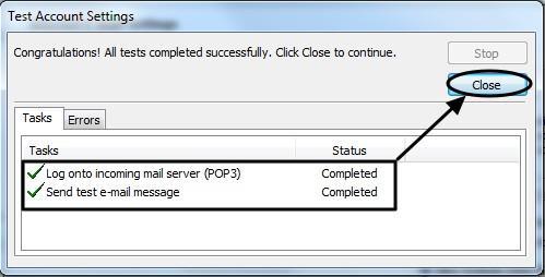 การตั้งค่า Outlook 2010-8